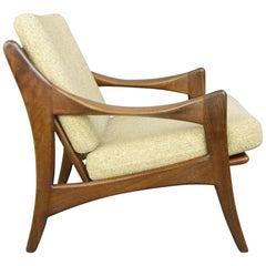 Midcentury Lounge Chair by Gelderland, circa 1950s