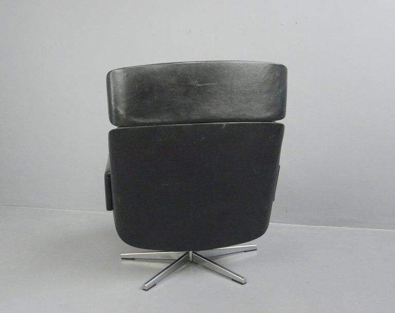 Midcentury Lounge Chair by Kurt Hvitsjö for Isku, circa 1960s For Sale 1