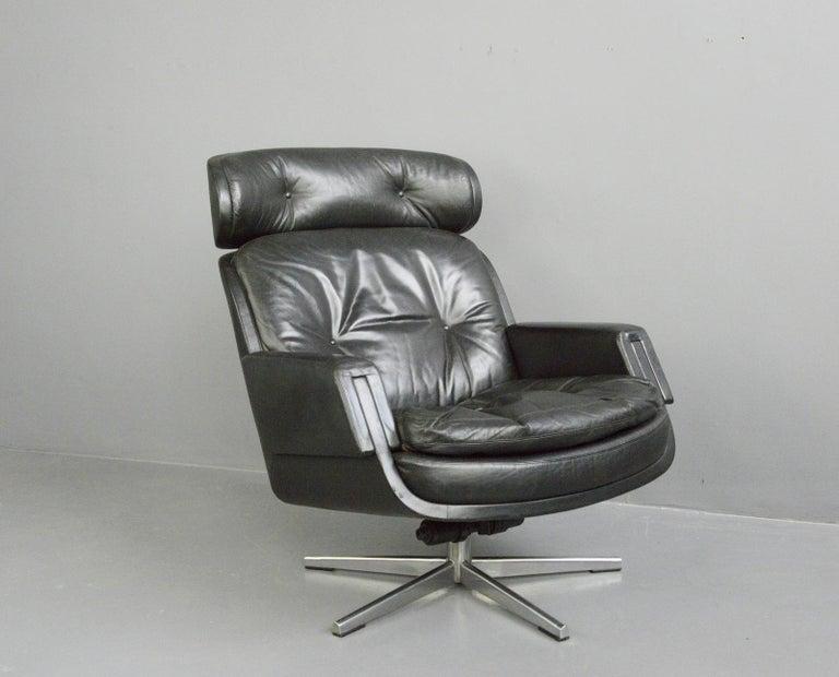 Midcentury Lounge Chair by Kurt Hvitsjö for Isku, circa 1960s For Sale 2
