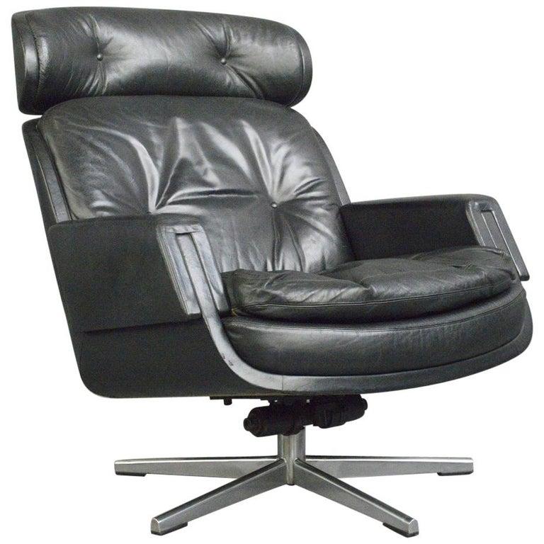 Midcentury Lounge Chair by Kurt Hvitsjö for Isku, circa 1960s For Sale