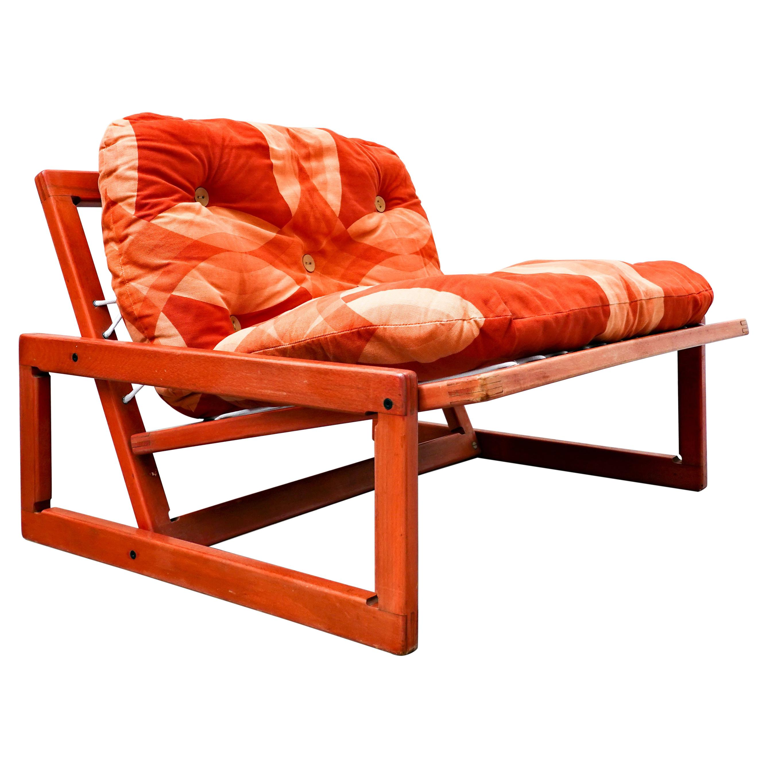 Mid-Century Lounge Chair 'Carlotta' by Tobia & Afra Scarpa for Cassina, 1960s