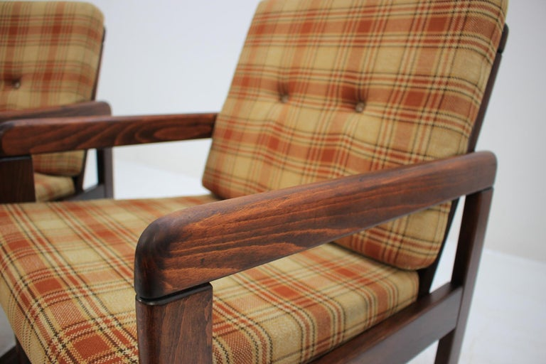 Midcentury Lounge Chair, Czechoslovakia, 1970s For Sale 3