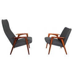 Midcentury Lounge Chairs by Yngve Ekstrom for Pastoe, 1960s