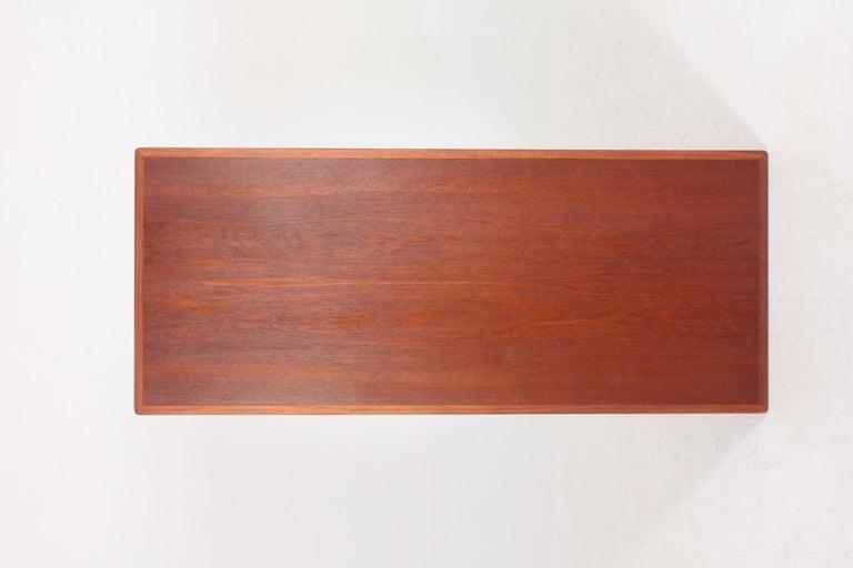 Midcentury Low Table Designed by Finn Juhl, Danish Design, 1950s For Sale 4