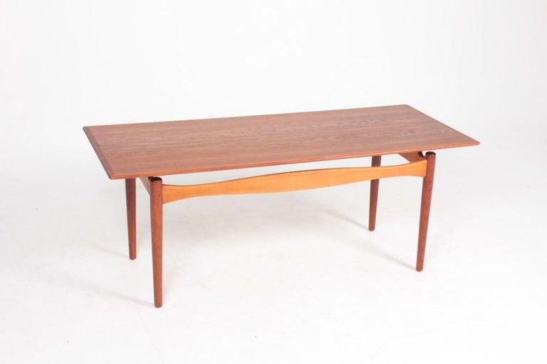 Scandinavian Modern Midcentury Low Table Designed by Finn Juhl, Danish Design, 1950s For Sale