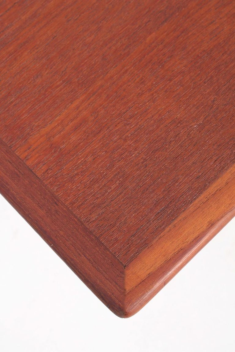 Beech Midcentury Low Table Designed by Finn Juhl, Danish Design, 1950s For Sale