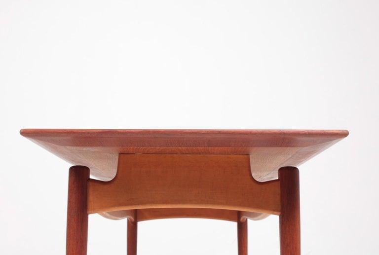 Midcentury Low Table Designed by Finn Juhl, Danish Design, 1950s For Sale 3