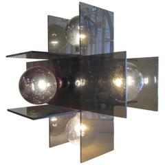Midcentury Lucite Lamp