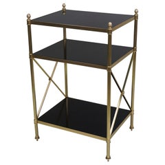 Midcentury Maison Jansen Style Bronze Side/End Table