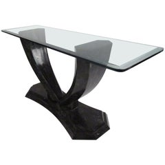 Midcentury Robert Marcius for Casa Bique Tessellated Hall Table