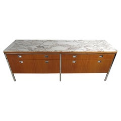 Midcentury Marble-Top Dresser by Florence Knoll