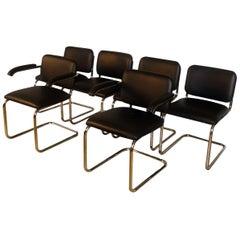 Midcentury Marcel Breuer Cesca Chairs by Stendig