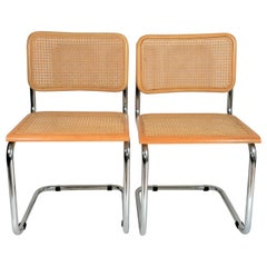 Midcentury Marcel Breuer Cesca Side Chairs