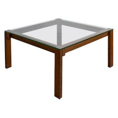 Midcentury Martin Visser Wengé Vintage Coffee Table, 1960s