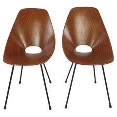 Mid Century Medea Chair by Vittorio Nobili for Fratelli Tagliablue, 50's