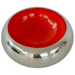 Midcentury Metal Bowl