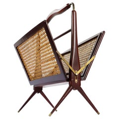 Mid-Century Mexican Modern Folding Magazine Rack