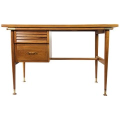 "Midcentury Mexican Modern Rare Desk by ""Silleria Malinche"""