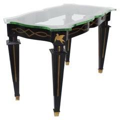 Midcentury Mexican Modernist Side Table by Arturo Pani Fleur de Lis