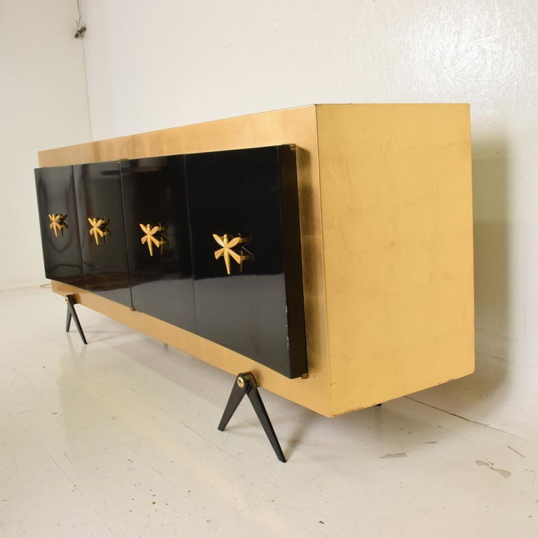 Midcentury Mexican Modernist Stunning Credenza after Arturo Pani 2