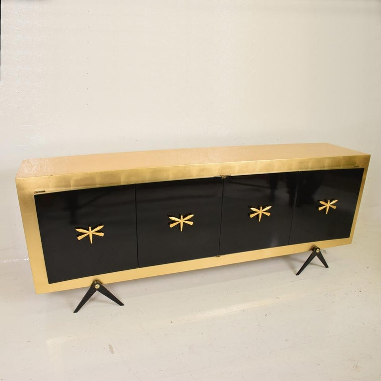 Midcentury Mexican Modernist Stunning Credenza after Arturo Pani 5