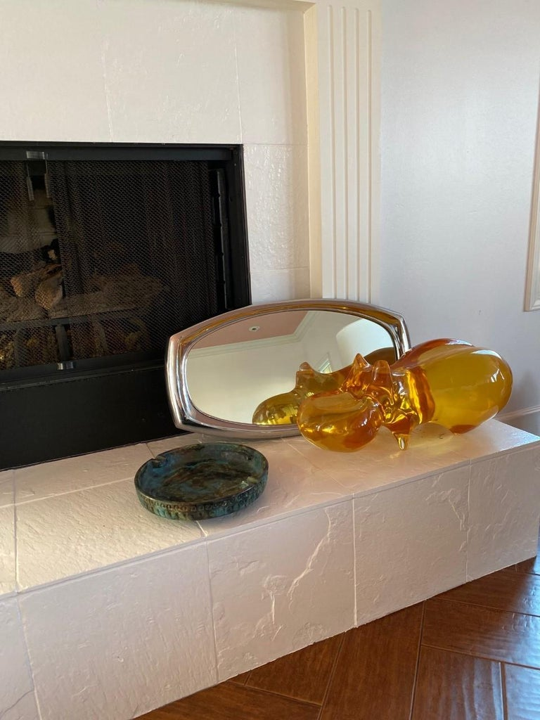 Midcentury Mirror by Syroco For Sale 1