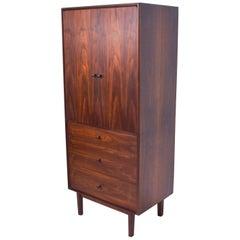 Mid-Century Modern Glenn of California Walnut Cabinet Dresser, Richard Thompson