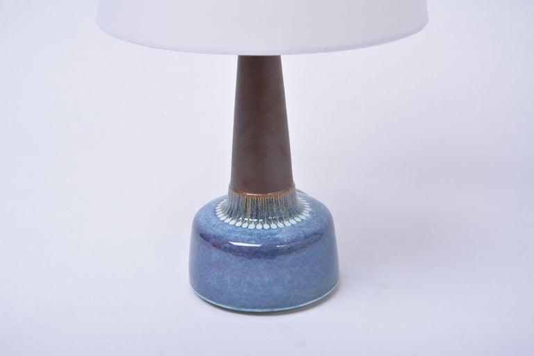 Danish Mid-Century Modern Stoneware table lamp by Einar Johansen for Søholm For Sale