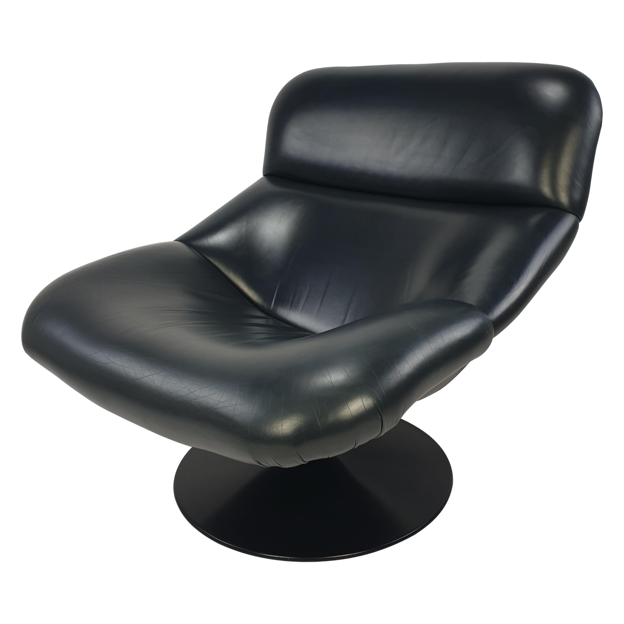 Mid Century Model F518 Lounge Chair by Geoffrey Harcourt for Artifort, 1970s