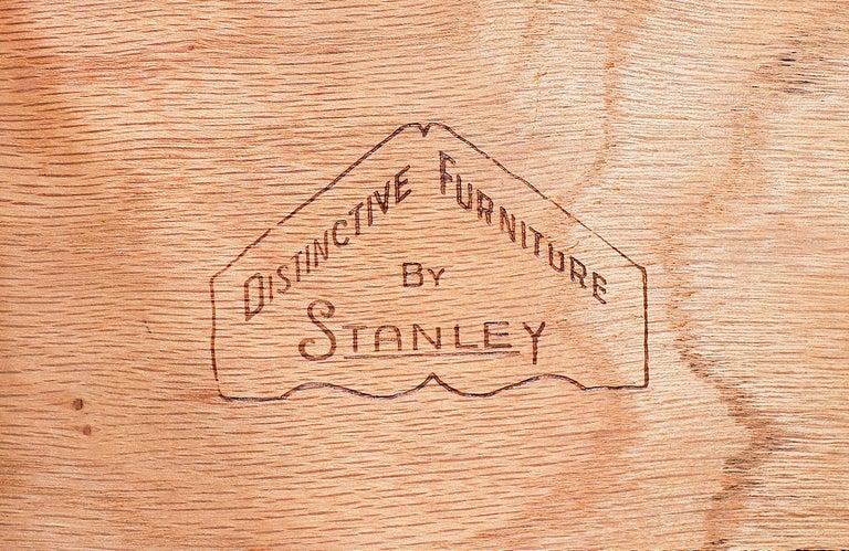 Mid-Century Modern 9-Drawer Dresser by Stanley Furniture For Sale 4