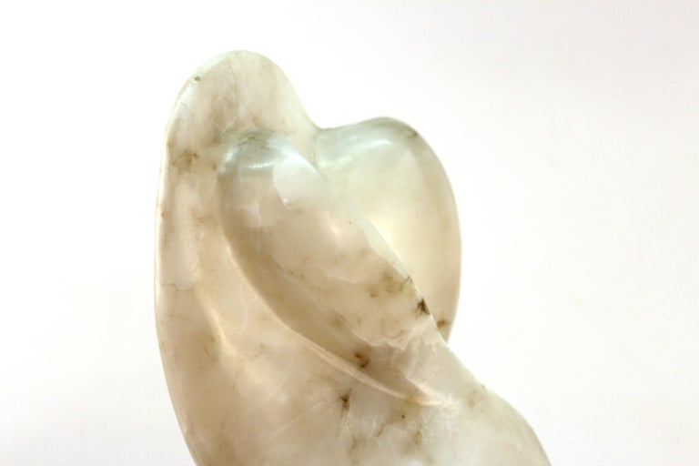 Mid-Century Modern Abstract Biomorphic Marble Sculpture For Sale 7