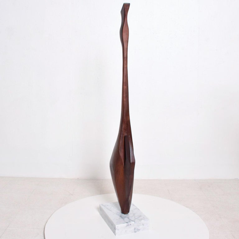 American Mid-Century Modern Abstract Modern Sculpture after Nakashima For Sale