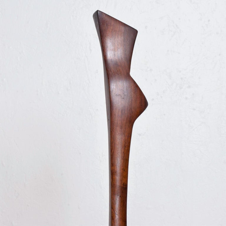 Mid-20th Century Mid-Century Modern Abstract Modern Sculpture after Nakashima For Sale