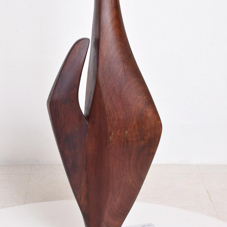 Marble Mid-Century Modern Abstract Modern Sculpture after Nakashima For Sale