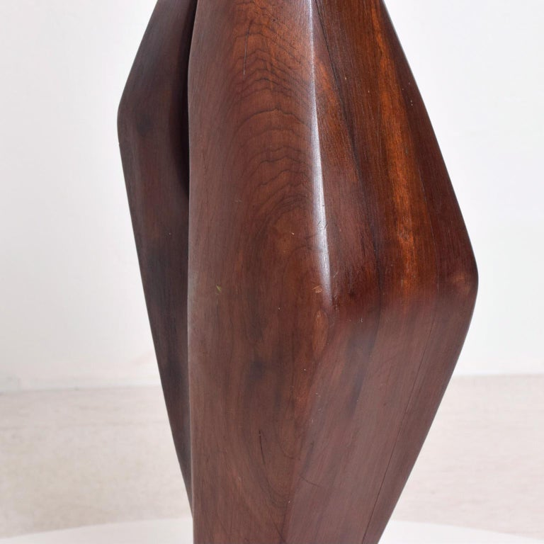 Mid-Century Modern Abstract Modern Sculpture after Nakashima For Sale 3