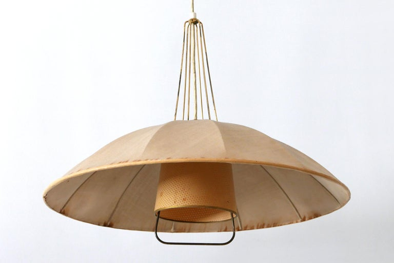 Mid-Century Modern Adjustable Counterweight Pendant Lamp or Hanging Light, 1950s For Sale 10