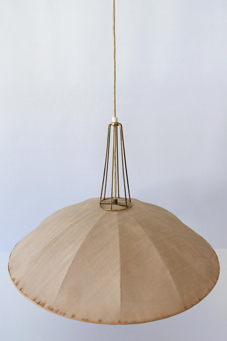 Mid-Century Modern Adjustable Counterweight Pendant Lamp or Hanging Light, 1950s For Sale 12