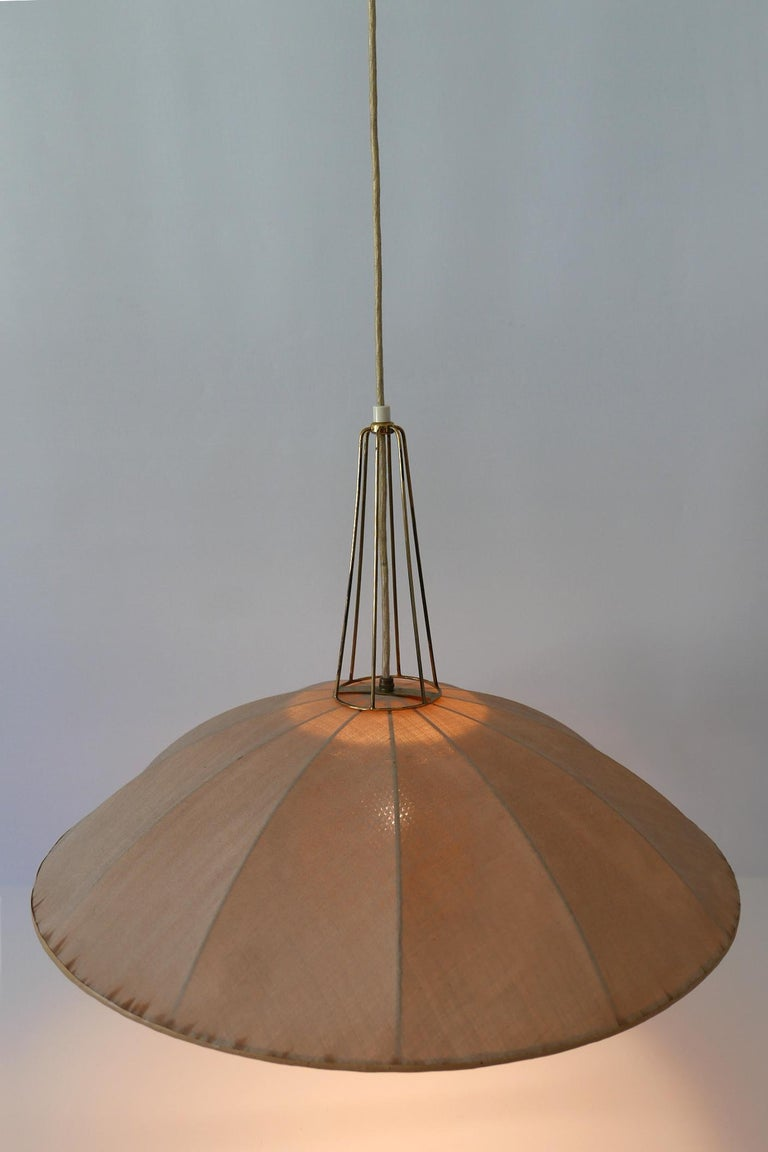 Mid-Century Modern Adjustable Counterweight Pendant Lamp or Hanging Light, 1950s For Sale 13