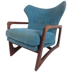Mid-Century Modern Adrian Pearsall 2466-C Wing Back Lounge Chair