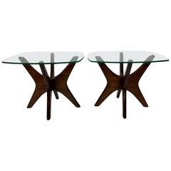 Mid-Century Modern Adrian Pearsall Jacks End Tables, a Pair