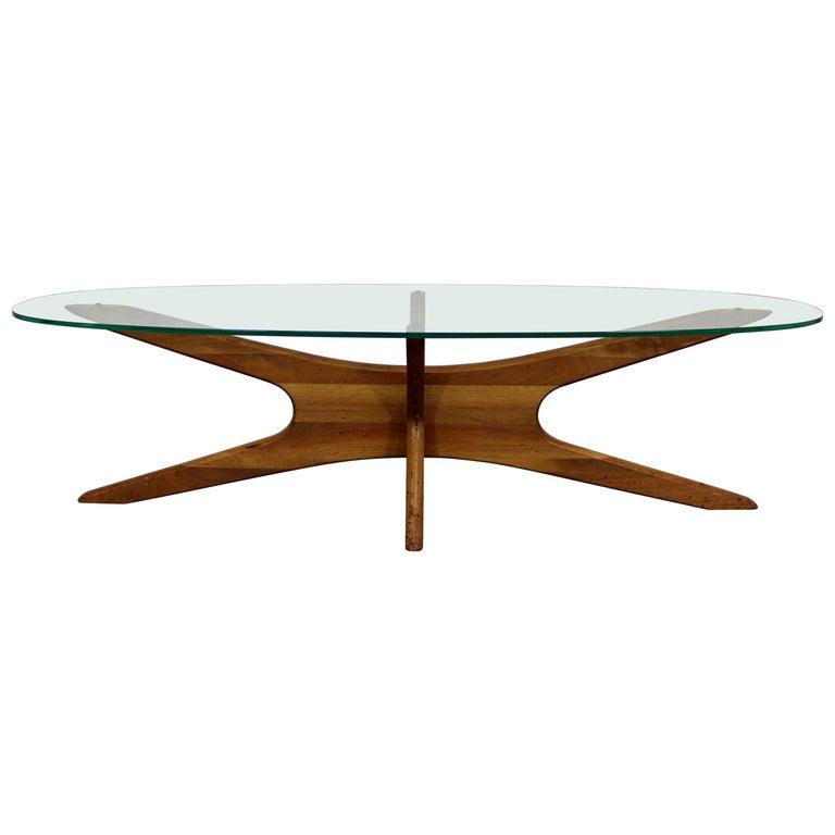 Mid-Century Modern Adrian Pearsall 'Jacks' Glass Top ...