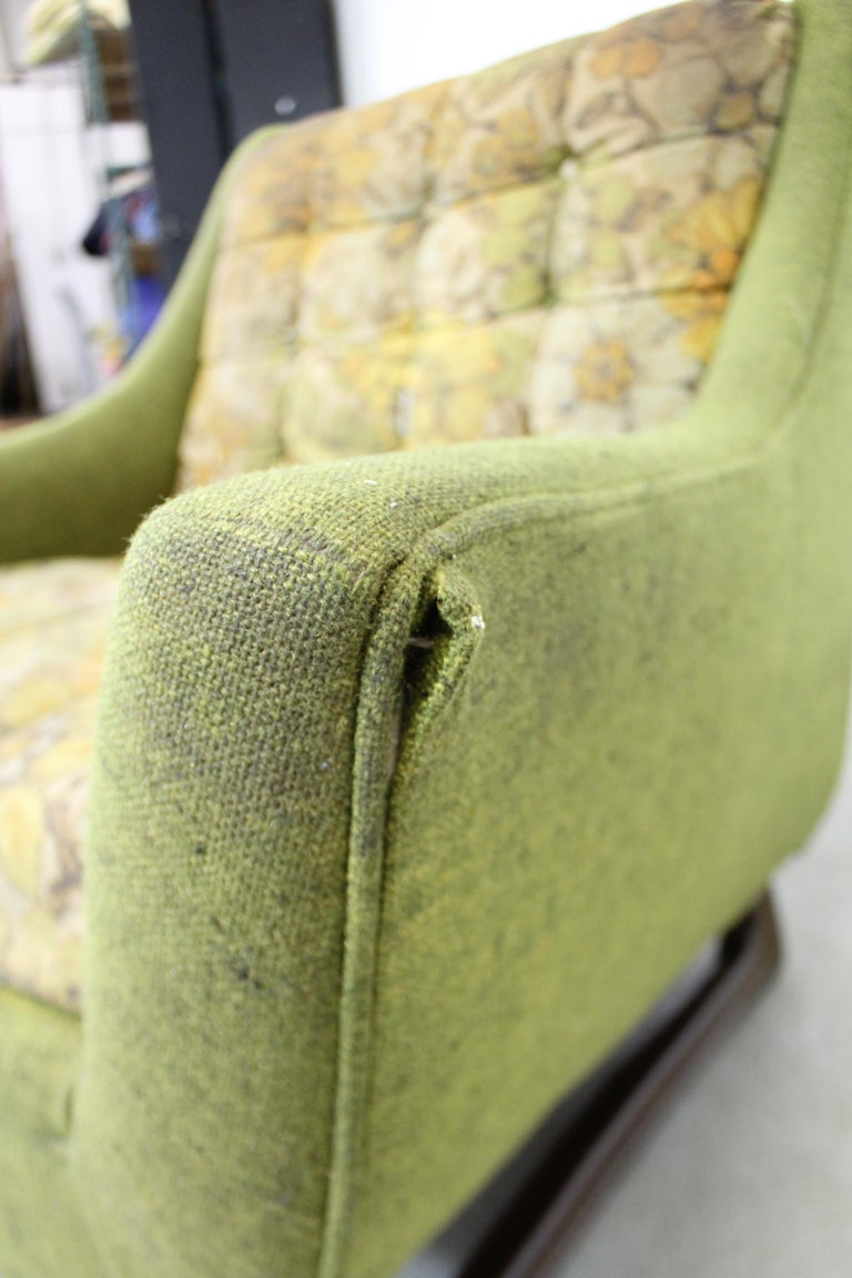 Mid-Century Modern Adrian Pearsall Sculpted Leg Lounge Chair For Sale 2