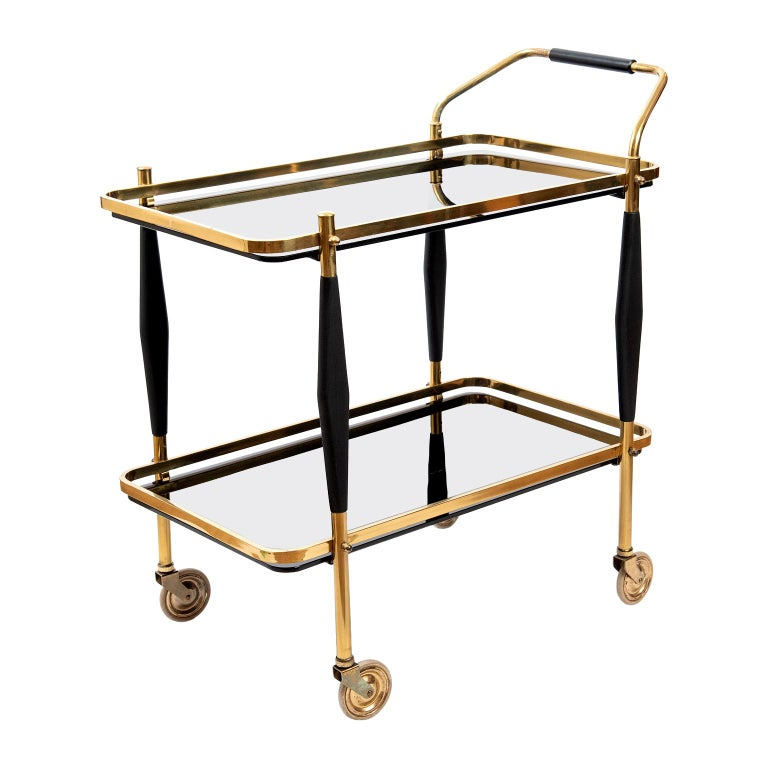 Mid-Century Modern American Bar Cart