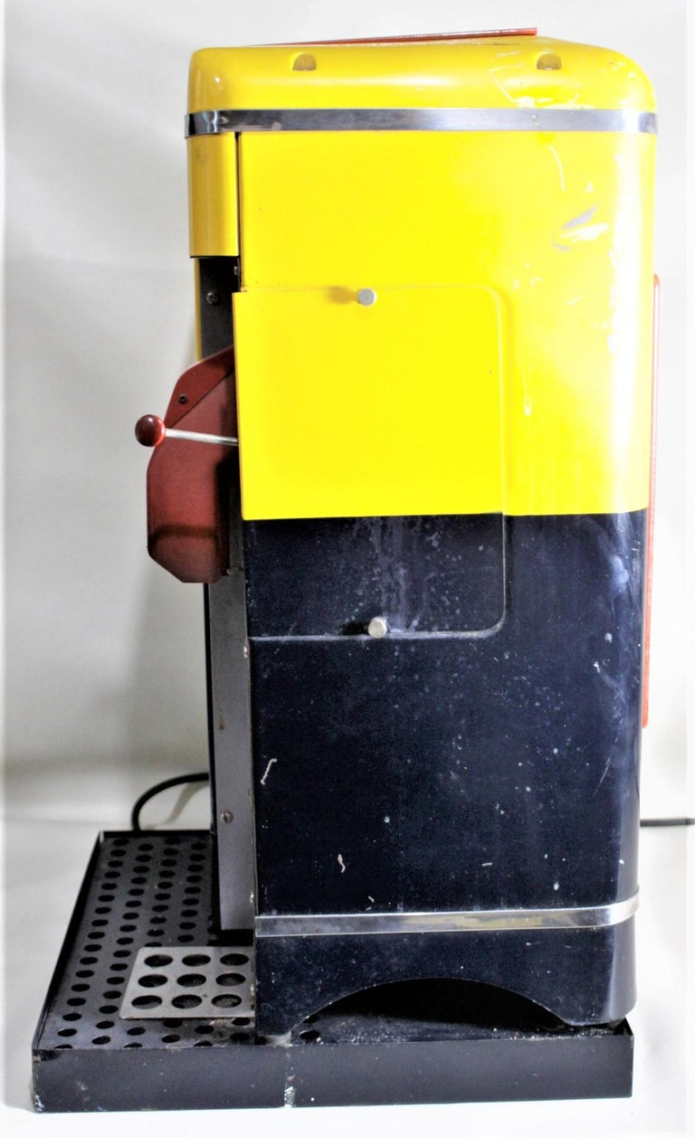 Mid-Century Modern American Duplex Commercial Coffee Grinder & Store Display For Sale 3