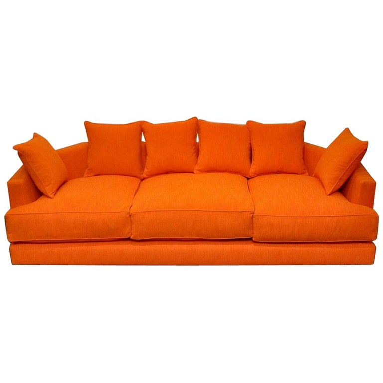 Mid Century Modern Sofa For Sale: Mid-Century Modern Angled Sofa For Sale At 1stdibs
