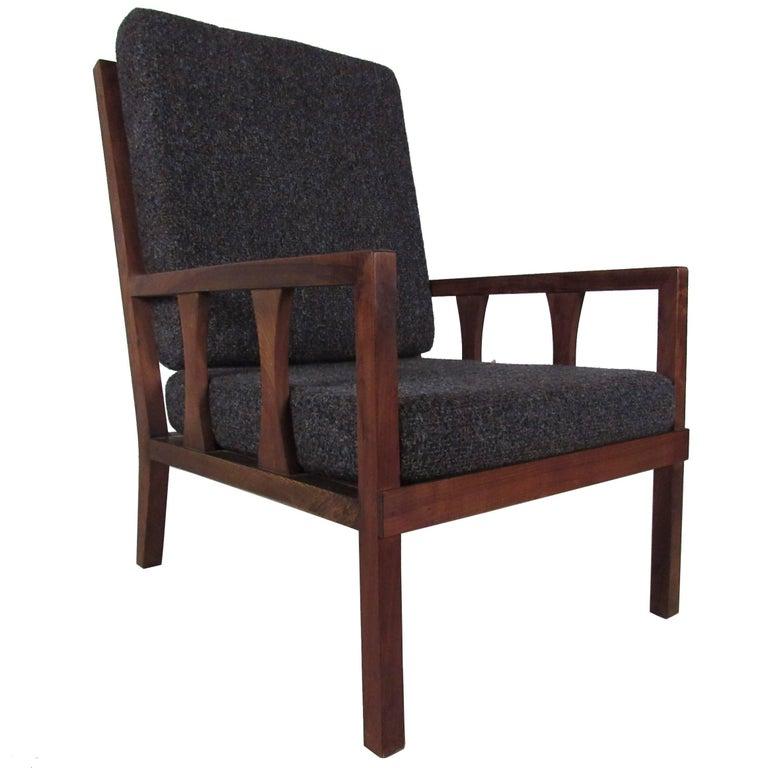 Mid-Century Modern Arm Chair For Sale
