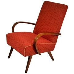 Mid-Century Modern Armchair by Jindrich Halabala, Czechoslovakia, 1960s