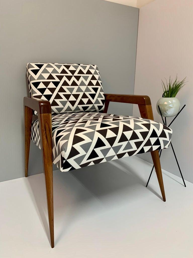 Mexican Mid-Century Modern Armchair For Sale