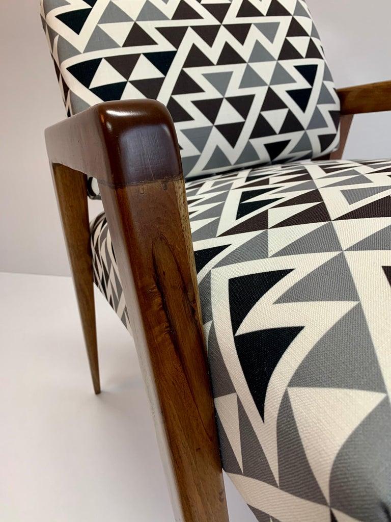 Cedar Mid-Century Modern Armchair For Sale