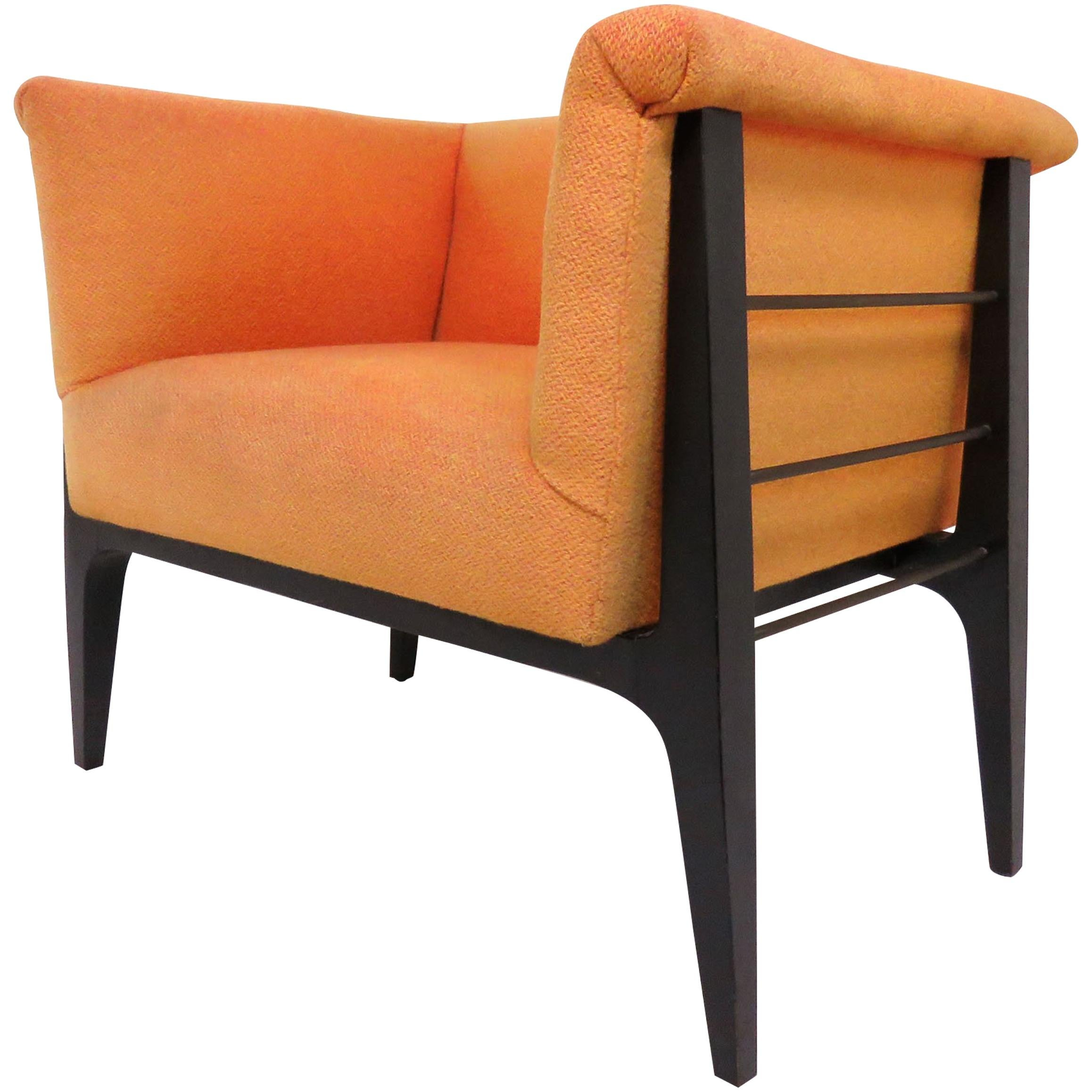 Mid-Century Modern Armchair in Manner of Harvey Probber